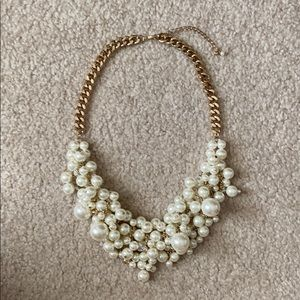 Gold Chain with Pearls Necklace